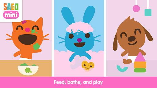 Screenshot for Sago Mini Babies in Hong Kong Play Store