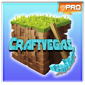 Craft Vegas - Game Block Crafting & Building icon
