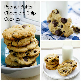 Chocolate Chips Peanut Butter Cookies.