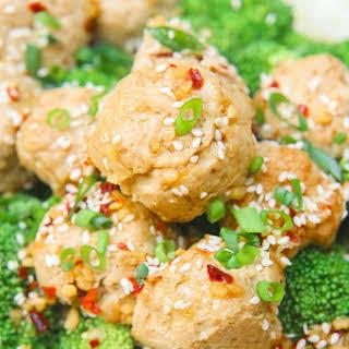 Sesame Ginger Paleo Turkey Meatballs.