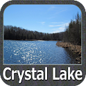 Crystal Lake - IOWA GPS Map icon