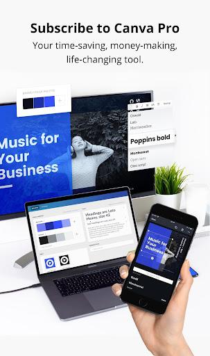 Canva: Graphic Design, Video, Invite & Logo Maker apkmr screenshots 21