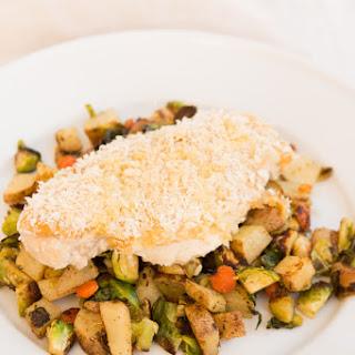 Healthy Hummus Chicken and Hash