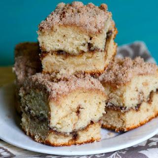 Cinnamon Streusal Coffee Cake Recipe