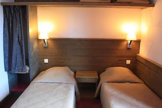Photo: Chambre twin d'un duplex 8 personnes
