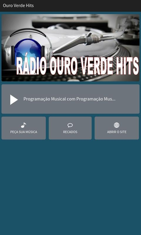 Ouro Verde Hits- screenshot