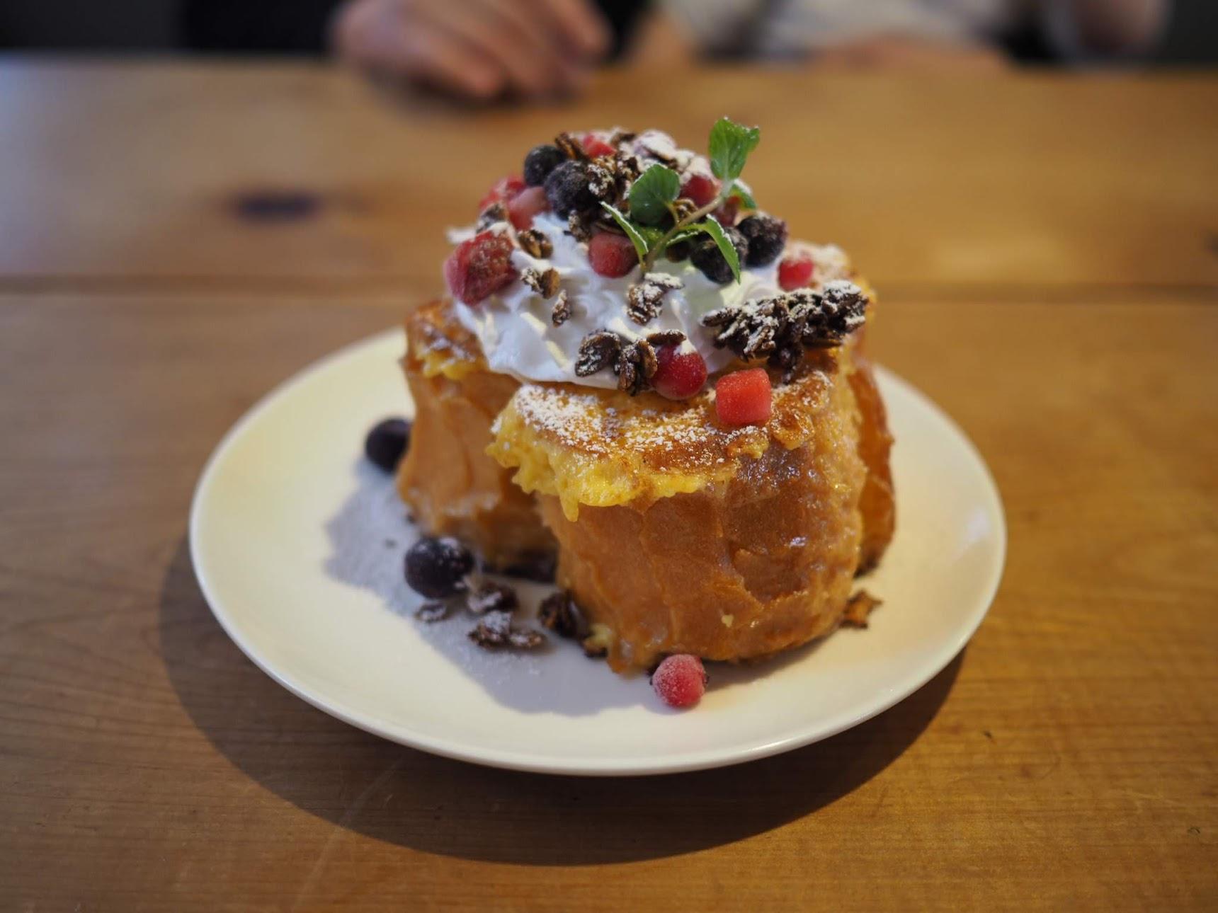 四日市ブルックのフレンチトースト