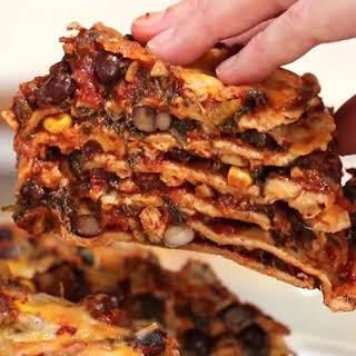 Chicken Taco Lasagna.
