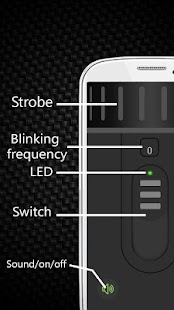 HD Flashlight LED Super Bright - náhled