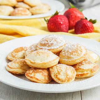 Poffertjes (Dutch Mini Pancakes).