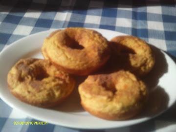 Pumpkin Spice Doughnuts Recipe