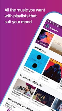Anghami - безплатен Unlimited Музика APK screenshot thumbnail 7