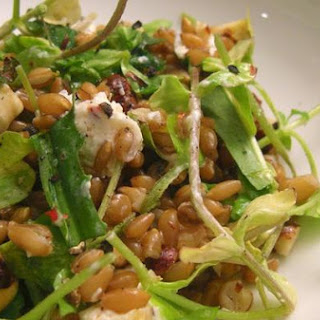 Chickweed, Triticale and Bourbon Salad