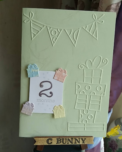 C Bunny DIY Cards