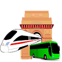 Delhi Metro Map,Fare, Route , DTC Bus Number Guide icon