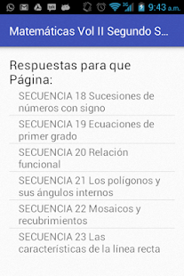 Matemáticas Vol II Segundo Sec - Apps on Google Play