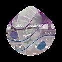 Moody weather GO Keyboard icon