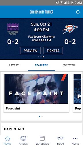Oklahoma City Thunder 2.3.2 screenshots 2