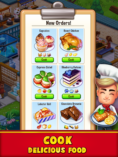 Food Street - Restaurant Management & Food Game  screenshots 2