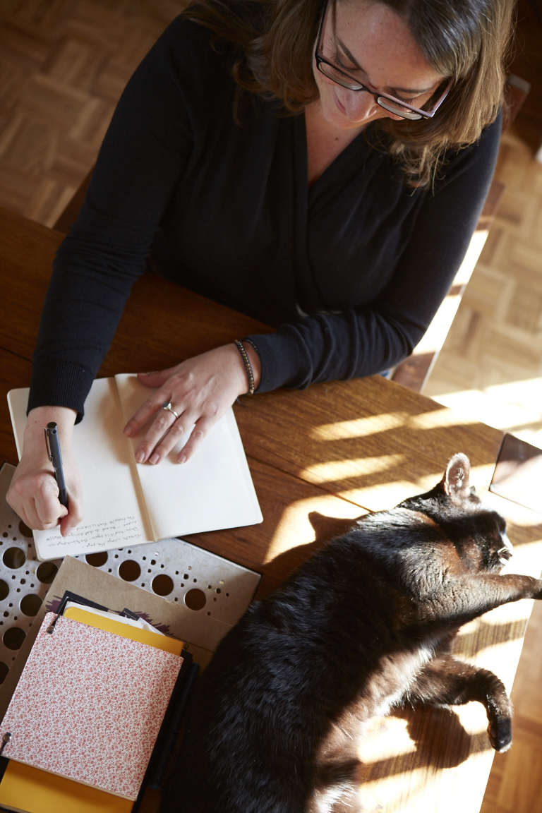 Rebecca writing