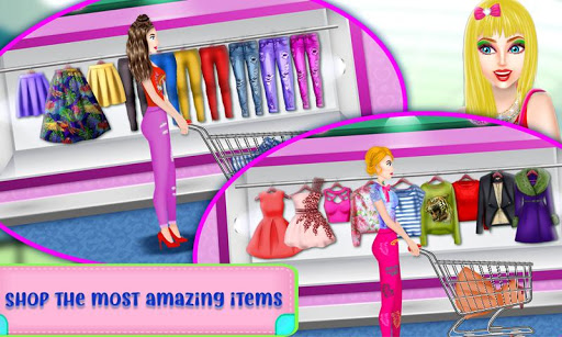 Shopping Mall For Rich Girls: Supermarket Cashier  screenshots 2