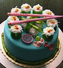 Photo: Vegetarian Sushi Cake