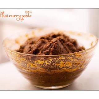 Red Thai Curry Paste ~krung Kaeng Phed