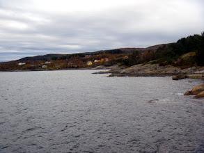 Photo: Utsikt frå Klokko mot Nedre-Børnes
