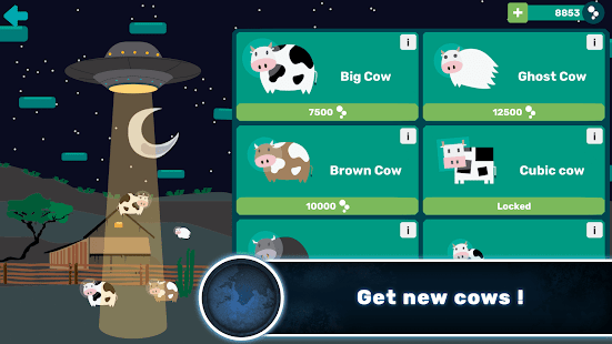 Galactic Cow- screenshot thumbnail