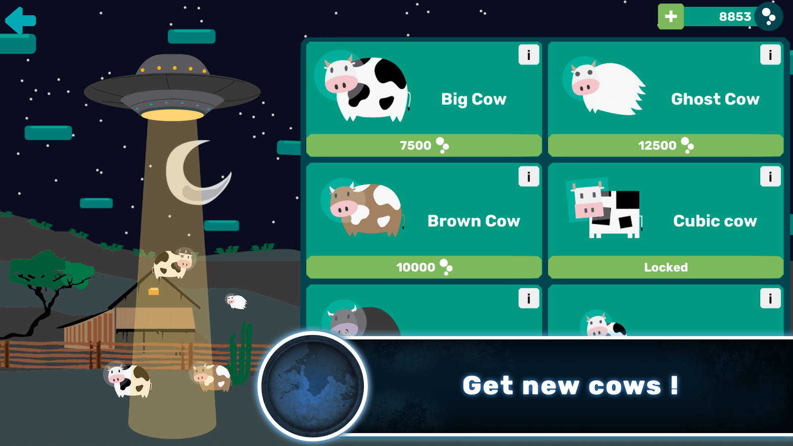 Galactic Cow- screenshot