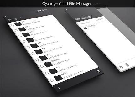 Smoke CM12.1 Theme screenshot