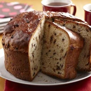 Chocolate Almond Casserole Bread.