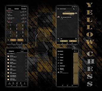 [EMUI 5/8/9.0]Yellow Chess Theme 2.2 APK + MOD (Unlocked) 2
