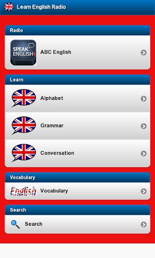 英語のラジオを学ぶ