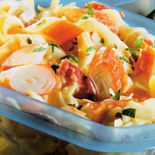 Surimi Pasta Salad
