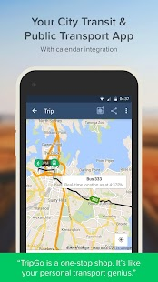 City Transit Planner - TripGo- screenshot thumbnail