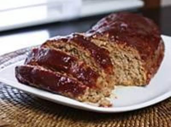 Mushroom Meat Loaf  With Brown Suger Glaze Recipe