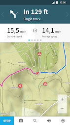 Komoot — Cycling, Hiking & Mountain Biking Maps APK screenshot thumbnail 2