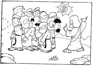 Photo: Jesús se aparece
