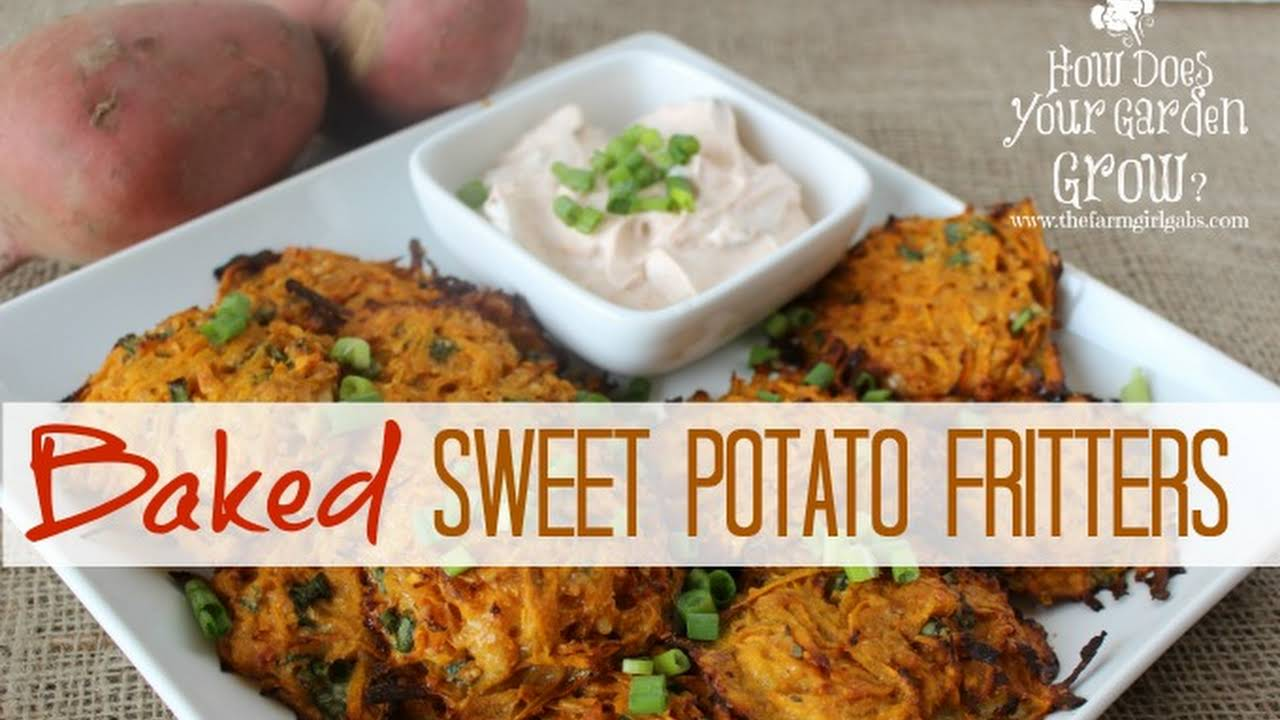 10 Best Sweet Potato Fritters Baked Recipes Yummly
