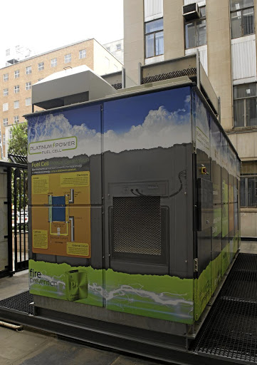 Chamber of Mines 100kW platinum fuel cell. Picture: FINANCIAL MAIL