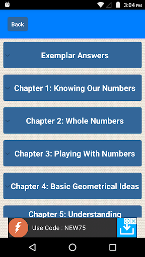 Class 6 Maths CBSE Solutions 0.7 screenshots 1
