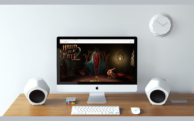Hand of Fate 2 Wallpapers and New Tab