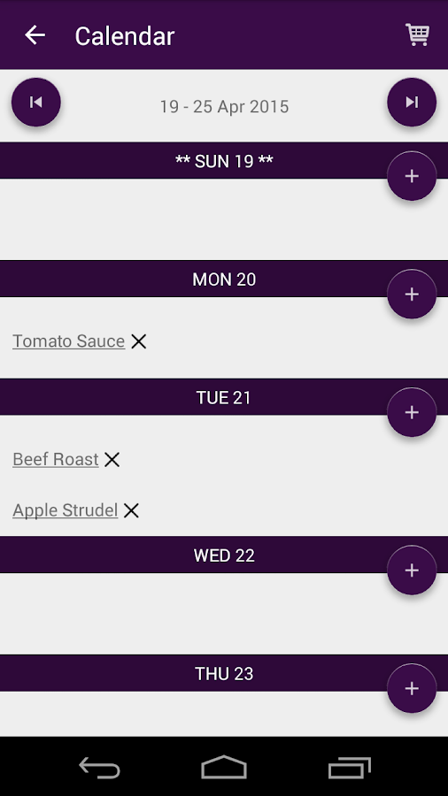 Cookbook Recipes : RecetteTek - screenshot