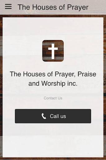 The houses of prayer