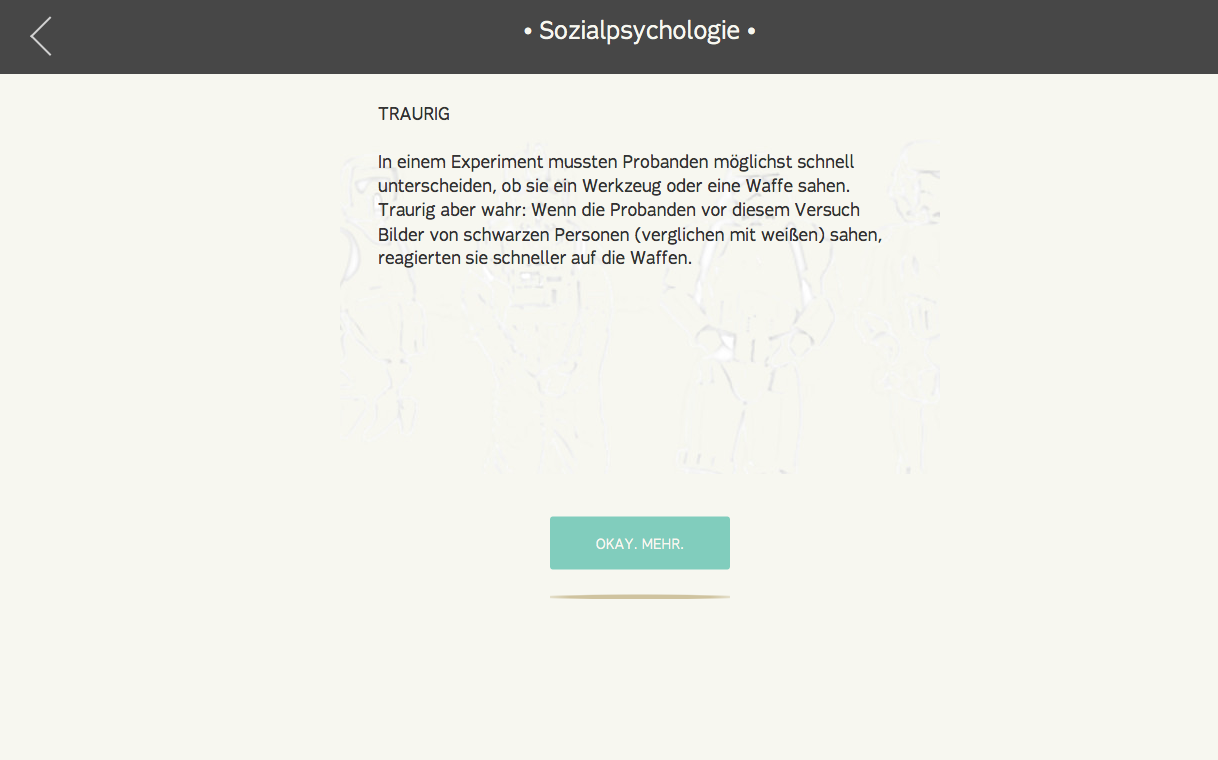 Psytastic: Psychologie-Fakten- screenshot