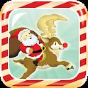 Santa's Reindeer Lunge icon