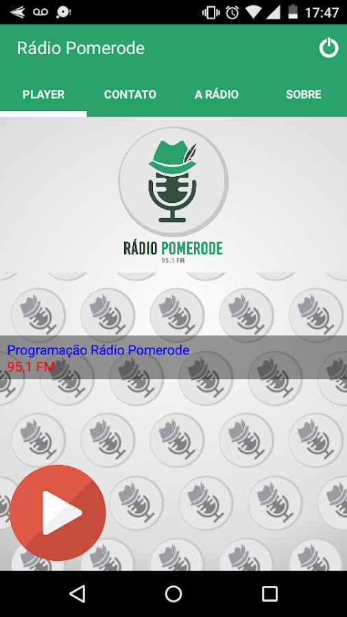 Rádio Pomerode- screenshot