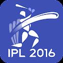 IPL 2016 & Live Cricket Score icon