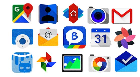 Painty - Icon Pack- screenshot thumbnail